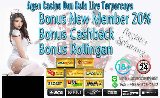 bonus apa saja yang bisa diberikan kepada member sbobet
